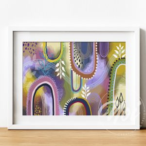 Colourful Abstract Fine Art Prints