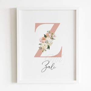 Personalised Monogram Prints